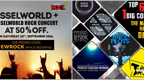 Shortlisted to Play at EsselWorld Rock