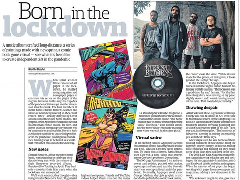 Featured in Hindustan Times - National News