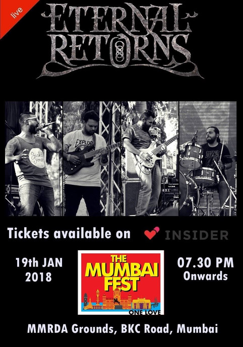 First show of the year - Playing in The Mumbai Fest