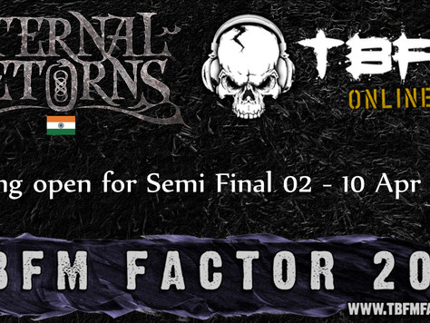 TBFM FACTOR HEAT 07 WINNERS ETERNAL RETURNS THROUGH TO SEMI FINALS WITH RUNNERS UP PELUGION