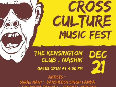 Playing In Nashik for Cross Culture Event