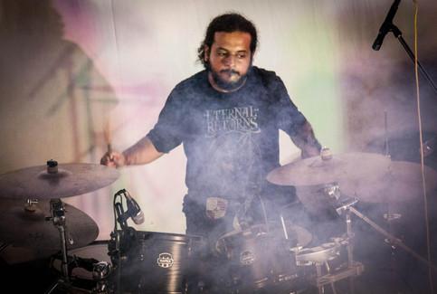 Pawan bags the best drummer award at Prayaan2K16