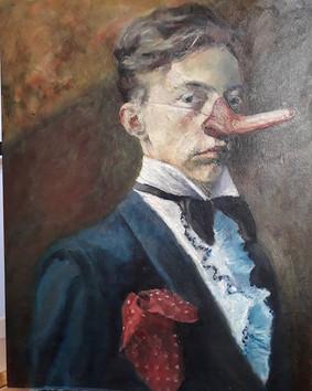 Portrait of the Artist as a Pompous Fool