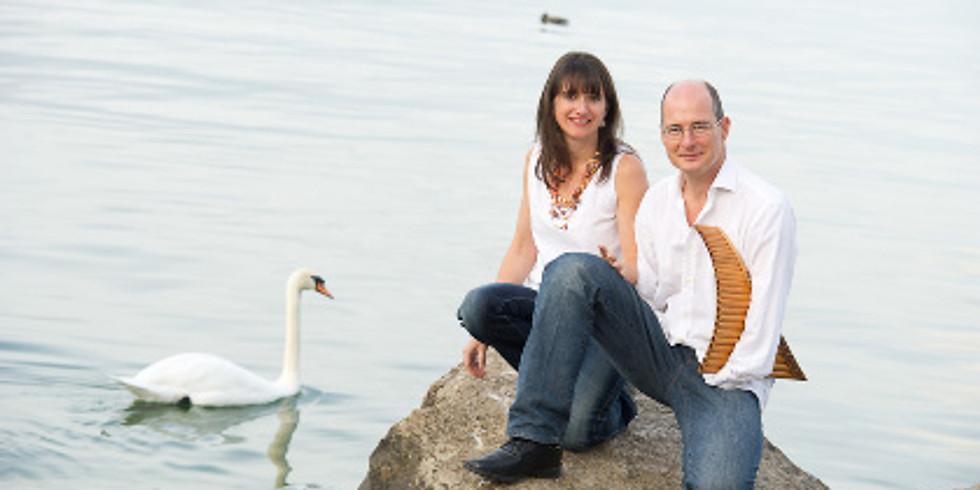 Michel et Sophie Tirabosco Flûte de Pan, Guitare et voix