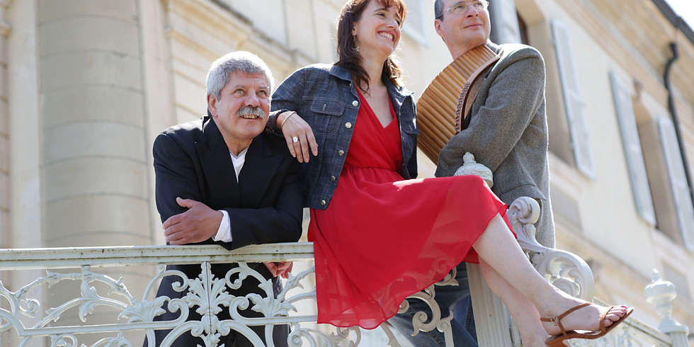 Michel et Sophie Tirabosco & Jean-Marie Reboul
