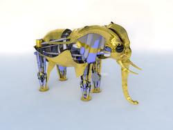 elefante ORO IG
