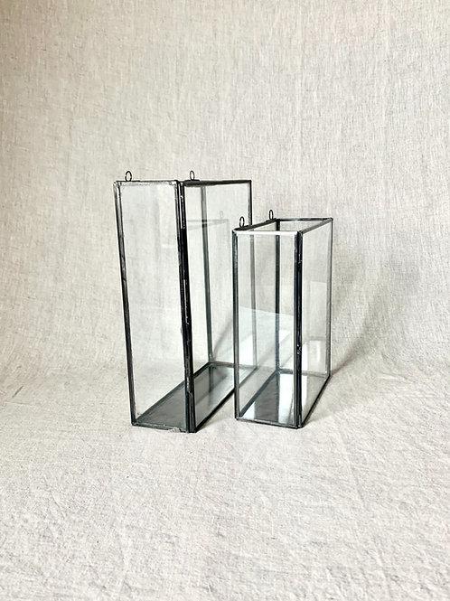 Zinc Glass Display Box - Large