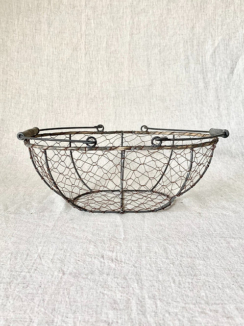 Vintage Wire Basket - Small