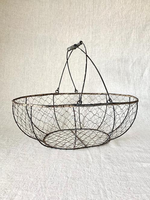 Vintage Wire Basket - Large