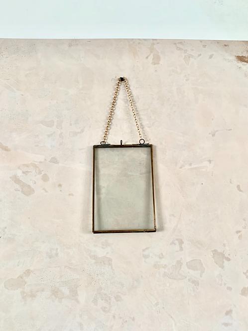 Portrait Copper Hanging Picture Frame