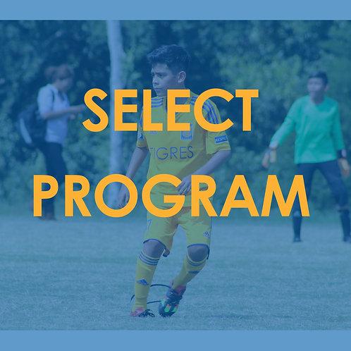 SELECT PROGRAM / U11-U18
