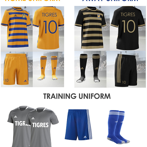2021-2023 Basic Uniforms Package