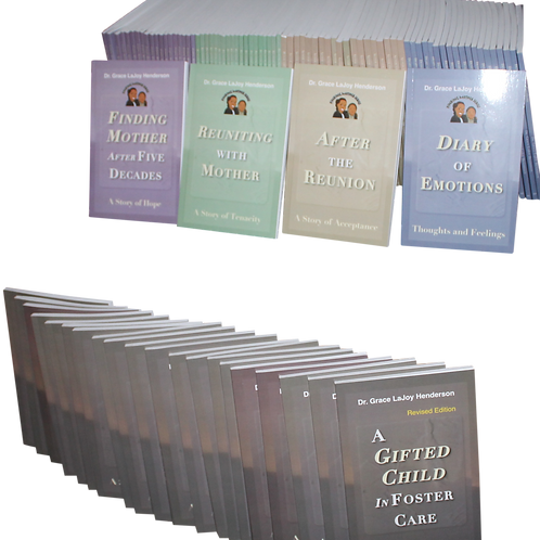 Classroom Set - Finding Mother Series - Plus Gifted = 100 books