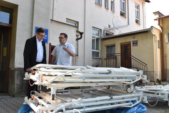 Prvních třiadvacet postelí dostalo dnes oddělení LDN