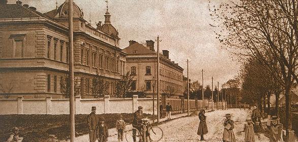 Budova sirotčince a chudobince na Ottendorfstrasse (1908)