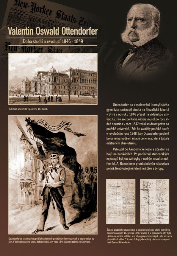 Doba studií a revolucí
