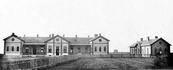 Původní podoba svitavské nemocnice (1892)