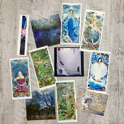 Selection of 10 Environmental cards