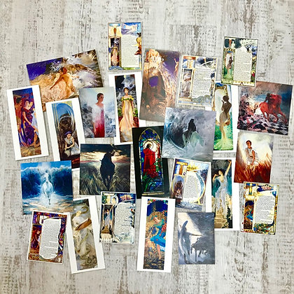 Selection of 10 Biblical cards