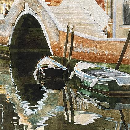 Boats & Bridge