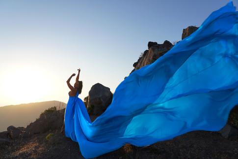 Santorini Flying dresses