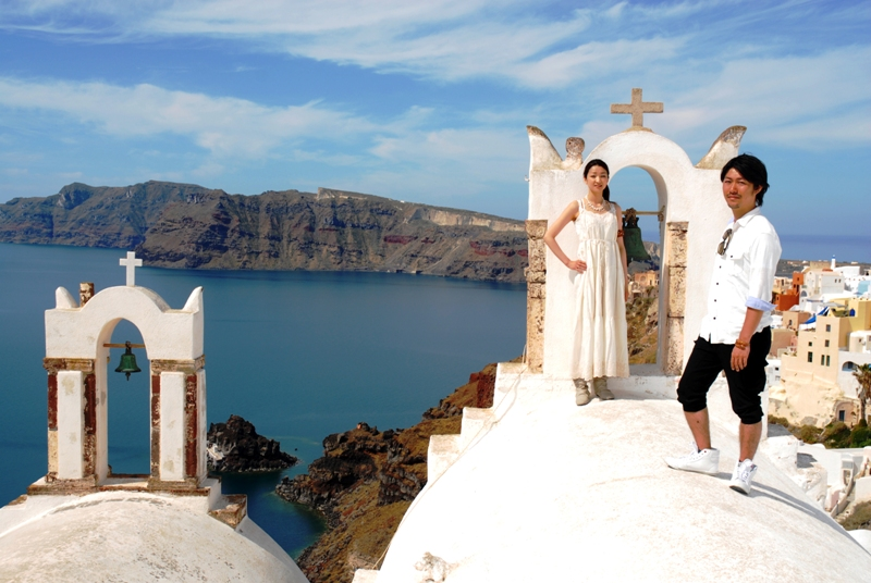 Santorini Photo by Skyline Travel