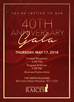 RAICES' 40th Anniversary Gala