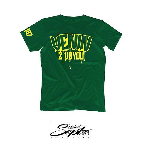 T-shirt Venin 2 Voyou Vert