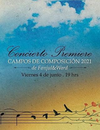 Programa Concierto Campos de Composición