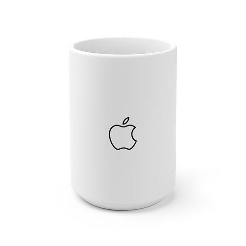 Apple Logo Keramik Tasse