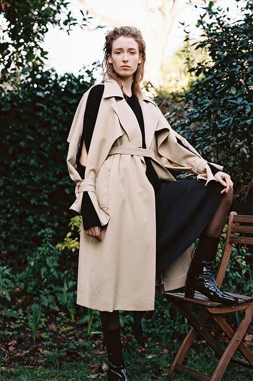 Sharon Wauchob Slash Sleeve Coat AW18
