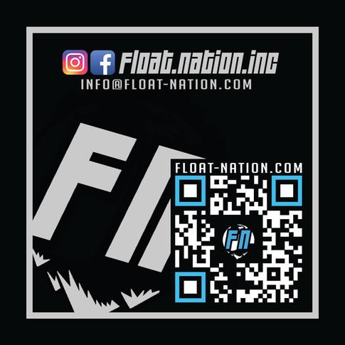 2.5 x 2.5 FloatNation Foil UV Business C