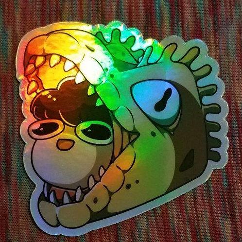 Holo Heck Maw Sticker