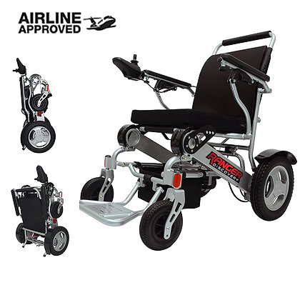 Ranger D09 Best Seller Exclusive Lightweight Folding Power Wheelchair