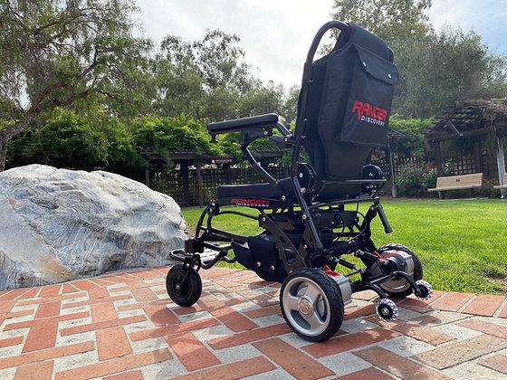 Porto Mobility Ranger Super Lightweight 41lbs Foldable Power Wheelchair (Black)