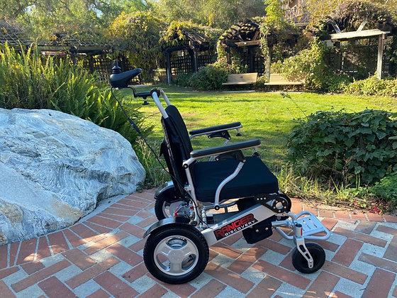Ranger Discovery D09 Caregiver Control Lightweight Folding Power Wheelchair