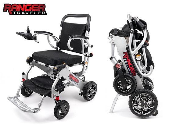 Ranger Traveler X5 Portable onl 43LBS Lightest Folding Deluxe Power Chair
