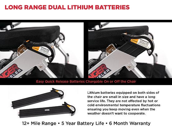 RANGER TRAVELER X5 Battery (1 Piece)