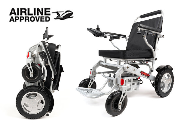 "2021 RANGER D09-S ""XL"" Wider Seat  Folding Electric Wheelchair(21""Seat)"