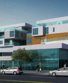 Renderings Revealed for Mixed-Use Complex on Reseda Boulevard