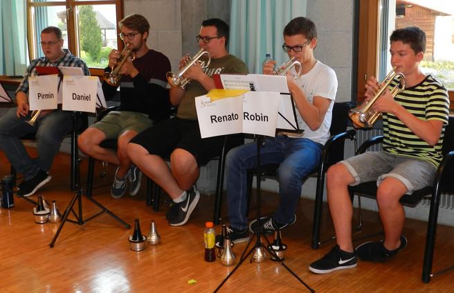 Registerlehrer / Section tutor Solo Cornets A-Band