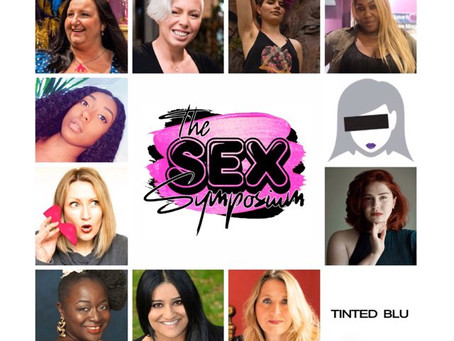 TODAY! Free Sex Symposium With Tinted Blu and all Your Fave Experts