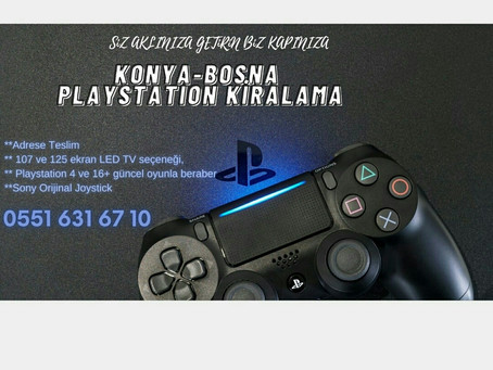 Bosna playstation kiralama
