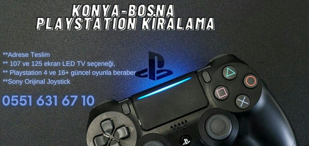 konya playstation kiralama, bosna playstation Kiralama, Konya Pes Kiralama