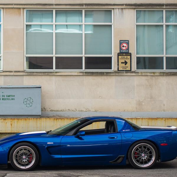 Allan's 2002 Corvette | HRE C21