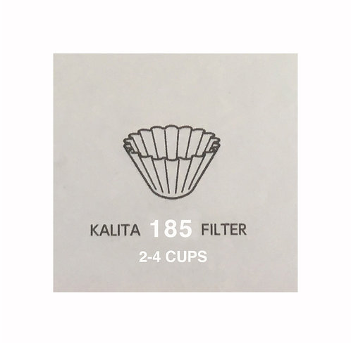 Kalita wave 185 Filter~ 2-4 Cups ~ 100 pc