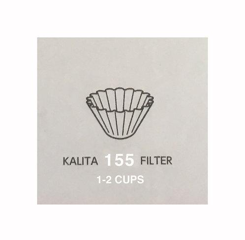 Kalita wave 155 Filter~ 1-2 Cups ~ 100 pc