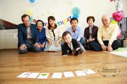 等身大アルバム,1才,誕生日