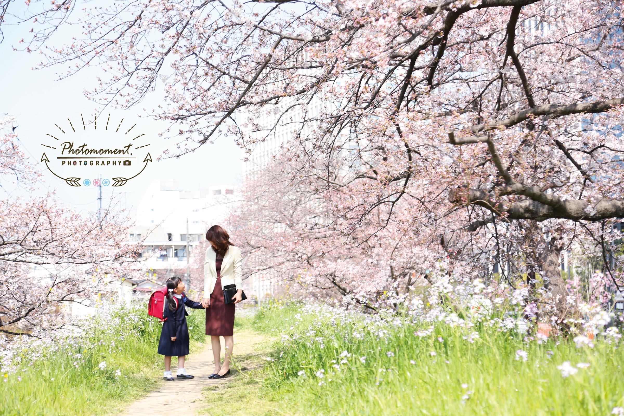 入学記念撮影二子玉川