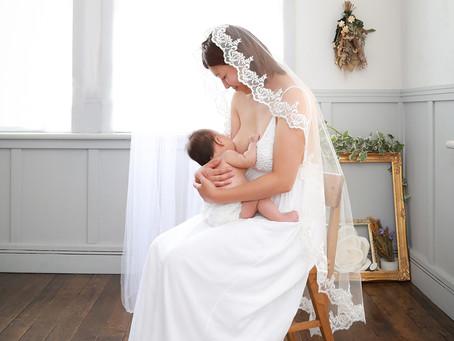 授乳フォト撮影用のドレスってどんなの?
